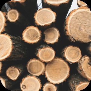 Metsa ja metsamaa hind, metsamaterjal